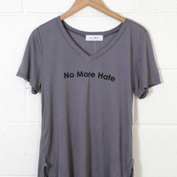 No More Hate Graphic Tee