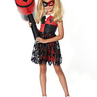 Kids Harley Quinn Dress - DC Comics - Spirithalloween.com