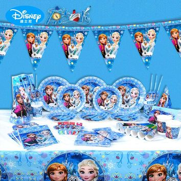 Disney Frozen Princess Birthday Party Decorations