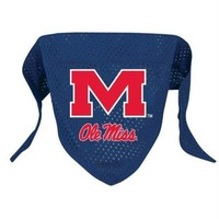 DCCKOP9 Ole Miss Rebels Mesh Dog Bandana