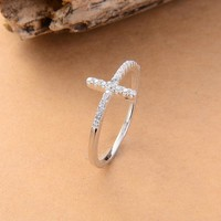 silver plated rings Fashion Jewelry
