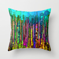 :: Party Time :: Throw Pillow by GaleStorm Artworks