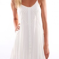 Festival Dream Dress White - Womens