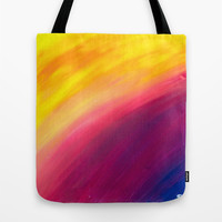 Skyfall Tote Bag by Sierra Christy Art