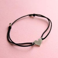 Wish Love Bracelet Black by meltemsem on Etsy