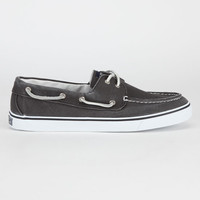 Sperry Top-Sider Bahama Womens Boat Shoes Black  In Sizes