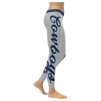 Dallas Football All-Over Low Rise Leggings: 2XS - 5XL available