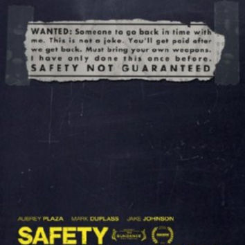 Safety Not Guaranteed Movie Poster 24inx36in
