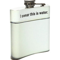 I Swear This Is Water Hip Flask