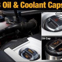 Volkswagen Jetta IV TDI ECS News R8 Oil And Coolant Caps