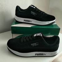 """""""Puma"""" Unisex Sport Casual Low Help Plate Shoes Couple Fashion Thick Bottom Sneakers"""