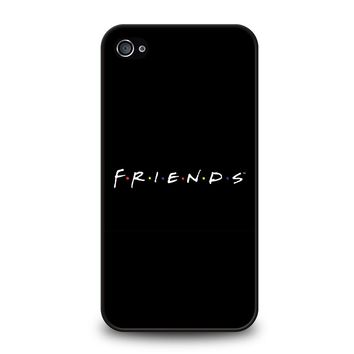 FRIENDS MINIMALISTIC iPhone 4 / 4S Case