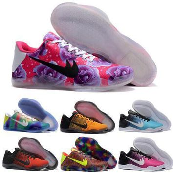 newest kobe 11 basketball shoes sneakers red purple low elite men mvp bryant kobes ix elite sports kb 11s ep trainer basketball shoe  number 1