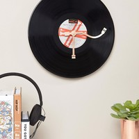 Thumbs Up Vinyl Clock at asos.com