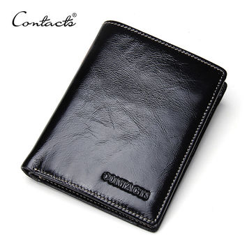 Men Wallet Leather Bags Stylish Multi-function Purse [9026420611]