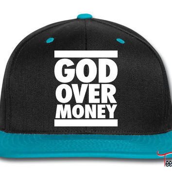 God Over Money d Snapback