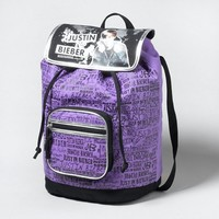 Justin Bieber Graffiti Backpack  | Claire's