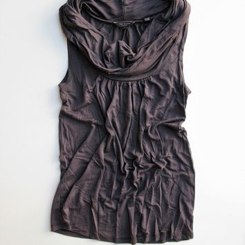 Ted Baker London Cowl Neck Sleeveless Knit Jersey Top 1 / US 4