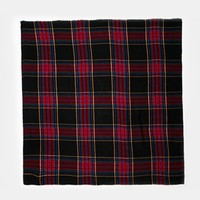 ASOS Oversized Black Check Square Scarf