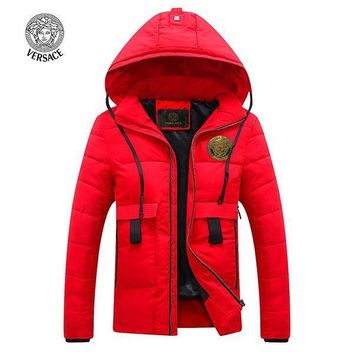 Versace Fashion Down Cardigan Jacket Coat Hoodie-2