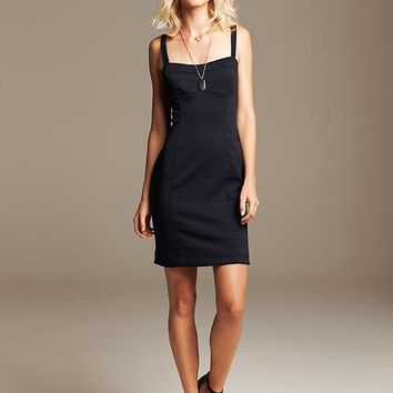 Banana Republic Womens Navy Sweetheart Dress Size 16 - Preppy navy