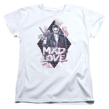 Suicide Squad - Mad Love Short Sleeve Women's Tee