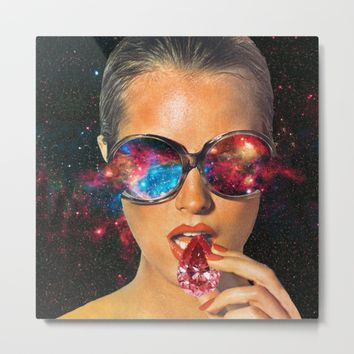 I AM I Metal Print by Eugenia Loli