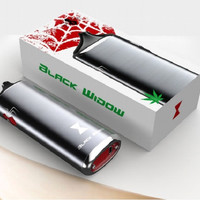 "The Black Widow Vape Dry Herb/Wax "" Free Shipping"""