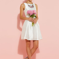 Let It Betrothed Dress in White | Mod Retro Vintage Dresses | ModCloth.com