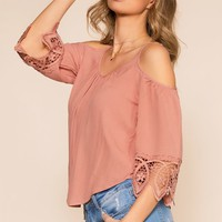 The Sweet Life Top - Mauve