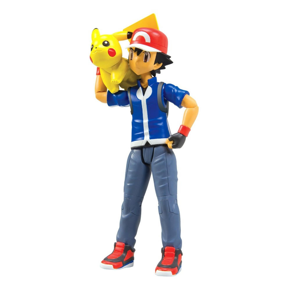 Ash And Pikachu Pokemon Xy Trainer Action From Past Generation