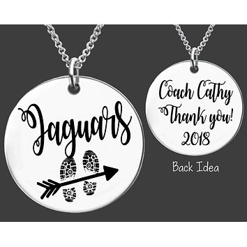 Cross Country Coach Necklace