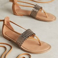 Eight Fifteen Hyperion Sandals in Tan Size: