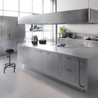 Professional stainless steel kitchen ABIMIS by ABIMIS by PRISMA