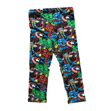 Marvel Super Heroes - Kids Arrow Leggings Handmade in America
