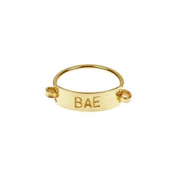 So into this design on Fab! BAE Ring #FabForAll