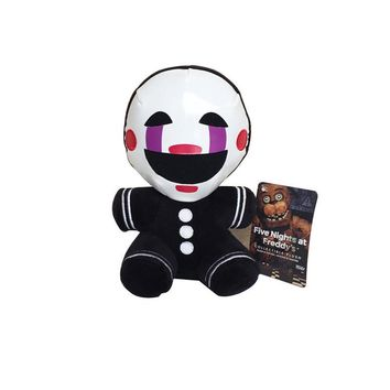 18cm   at Freddy 4 Nightmare Freddy Clown Marionette Plush Stuffed Toys Doll Soft Toy Gifts for Children Kids