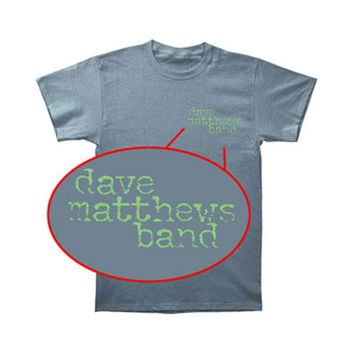Dave Matthews Band Men's  Tree T-shirt Blue