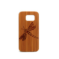 Real wood Samsung Galaxy S6 Case,Humming Bird Samsung Galaxy S6 Case, Wood Galaxy S6 Case