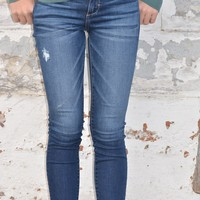 Dark Wash Hidden Skinny