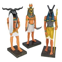 Park Avenue Collection S/3 Ancient Egyptian Gods