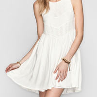 Huntingbird Diamond Dress Ivory  In Sizes