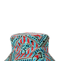 Tribal Print Bucket Hat