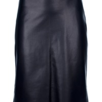 The Row Leather Skirt - Marion Heinrich - farfetch.com