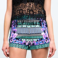 Tropic Heat Slouchy Shorts
