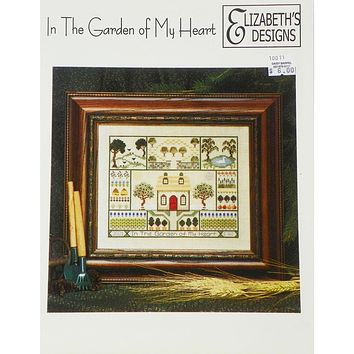 In the Garden of My Heart - Counted Cross Stitch Leaflet