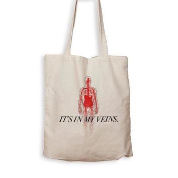 ONETOW Guitar Is In My Veins - Tote Bag