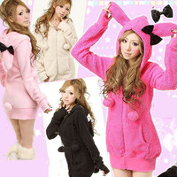 New Arrival Cute and Sweety Long Style Coat For Girl (Not Include Bowknot) China Wholesale - Everbuying.com