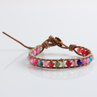 Colorful Beaded Wrap Bracelet