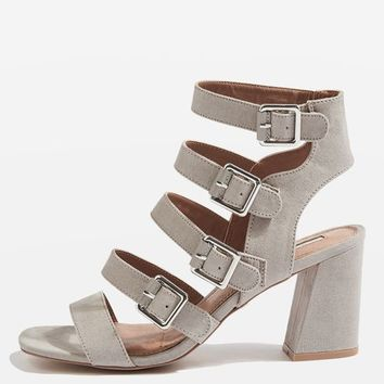 NATASHA Multi Buckle Heels - New In